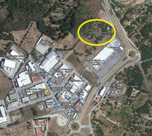 Terreno contíguo ao Retail Park da Guarda, com 8200 m^2