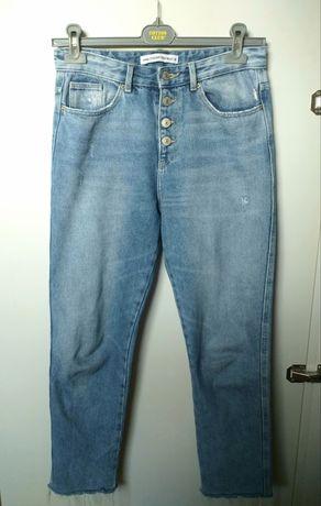 Jeansy + koszula GRATIS /sinsay 38/ mom jeans/boyfriend jeans