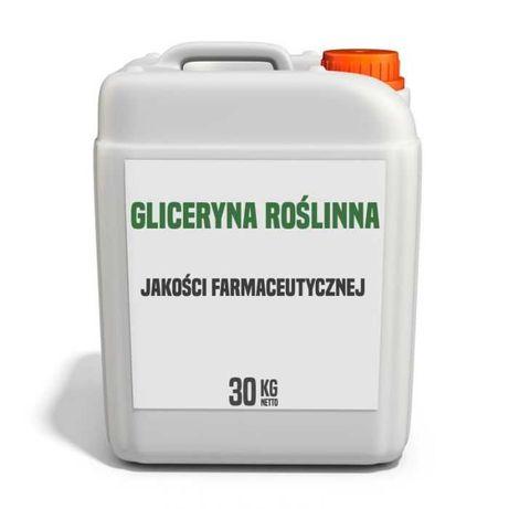 Gliceryna roślinna 99,9 %  farmaceutyczna – 30 – 1200 kg – Kurier