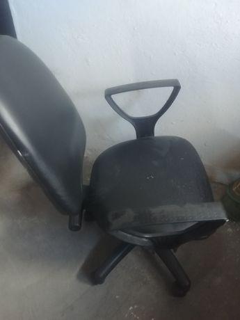 Krzesło skurzane