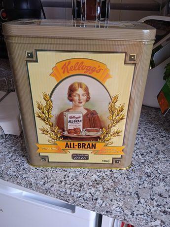 Caixa antiga cereais