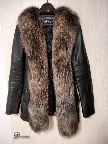 Жилет Турция жилетка натуральная енот куртка