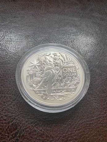 Moneta srebrna GODŁO KANGUR 2021 Australia's Coat Of Arms