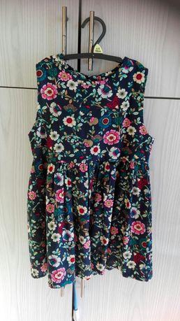 Sukienka rozmiar 110 116 H&M