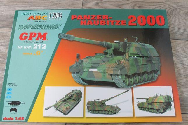 Model kartonowy PANZERHABITZE 2000 z wyd. GPM + Szkielet