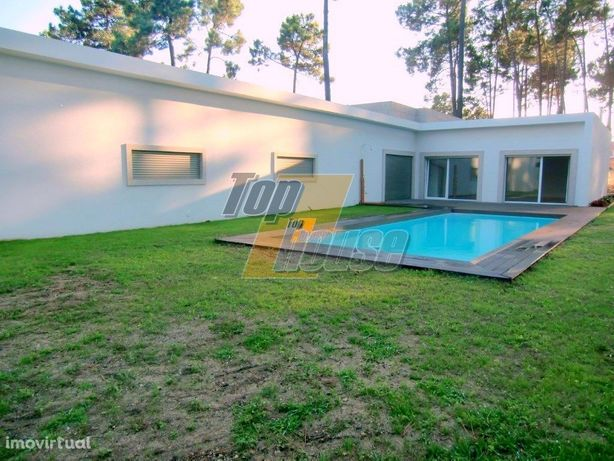 Moradia Térrea Arquitetura ContemporaneaT6 com piscina - ...