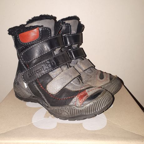 Lasocki CCC skórzane czarne buty zimowe rozmiar 27 wkładka 17.5 cm