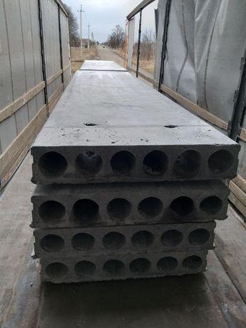 Плити перекриття залізобетонні довжиною від 1,5м до 9,0м