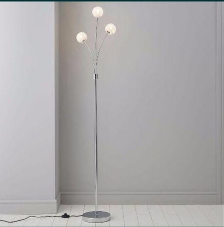 Lampa kolekcjonerska stojaca podłogowa wyłącznik nożny 3xg9