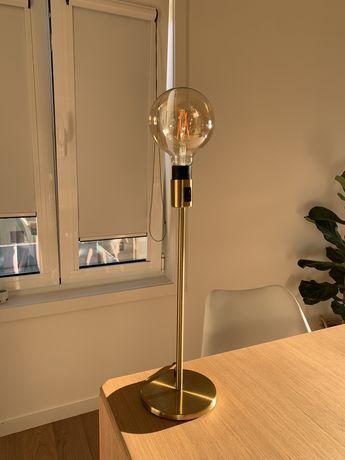 Candeeiro ikea+lampada globo Led