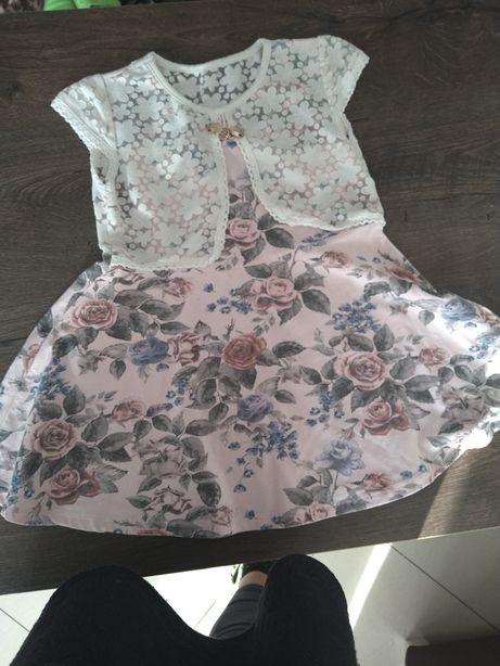Sukienka piękna dla księżniczki 98
