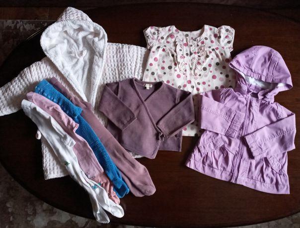 Пакет одягу для дівчинки 1,5- 2 рочки.