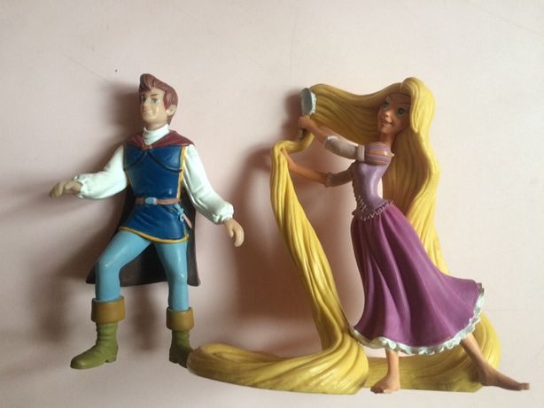 Фігурки disney рапунзель принц bullyland оргинал