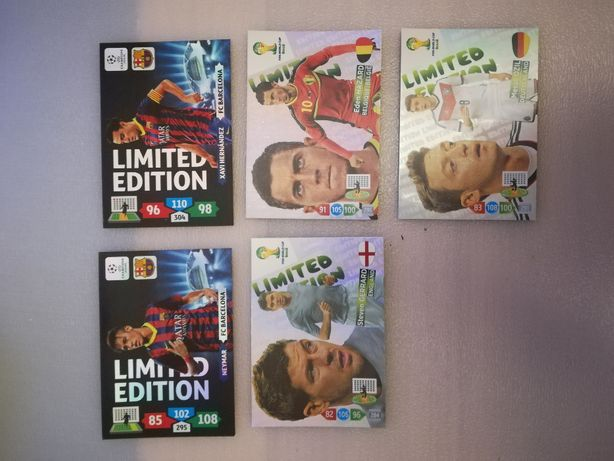 Karty - Panini UCL i MŚ 2014 Limited Edition