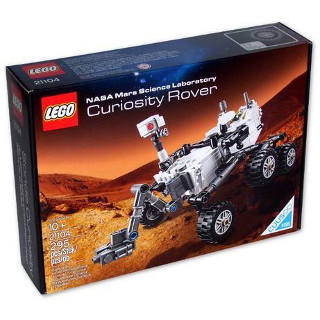 Конструктор LEGO 21104 Марсоход MSL Curiosity