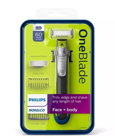 Триммер для бороды и усов Philips OneBlade QP2630/70