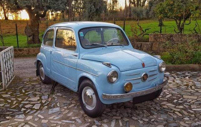 Fiat 600 1a Série / Aceito Trocas e Retomas