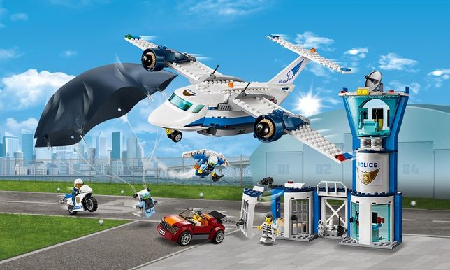 Lego City Baza policji powietrznej