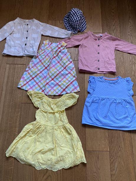 Sukienki H&M, sweterki Lupilu i inne PAKA