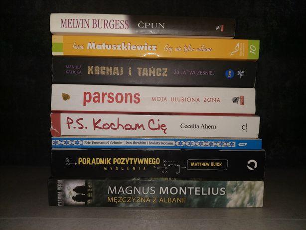 Książki różna literatura 20 zł za całość.