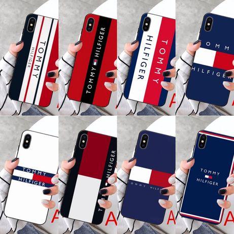 Tommy Hilfiger case etui Samsung S6 S7 Edge S8 Plus S9 S10 A10 A70 A50