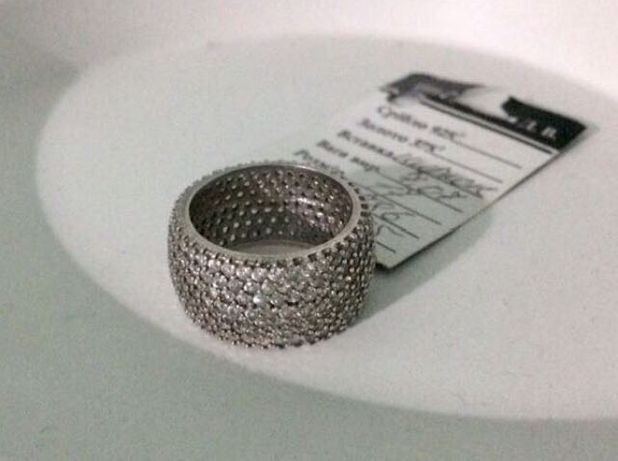 Кільце (перстень) срібло
