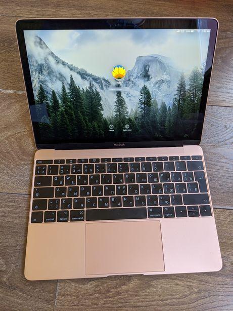Macbook 12 2017 Rose Gold идеал