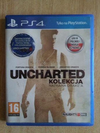 Gra Uncharted Kolekcja Nathana Drake'a PL na PS4
