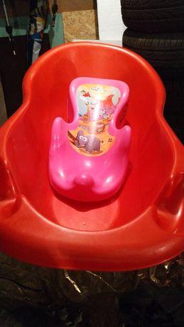 Ванночка детская с горкой