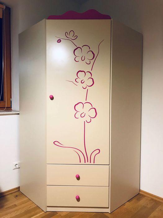Fantastyczna szafa narożna Meblik z serii Orchidea Warszawa - image 1