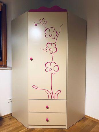 Fantastyczna szafa narożna Meblik z serii Orchidea