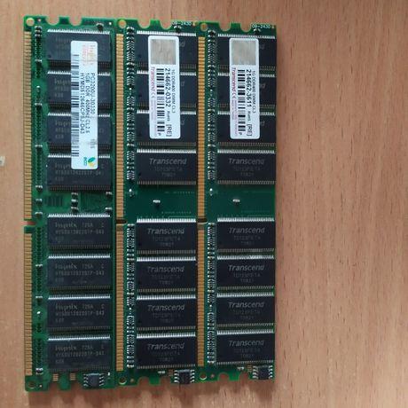 Оперативная память ddr 1 ddr400 планки по 1гб.
