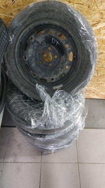 Продам диски + резина фабія поло