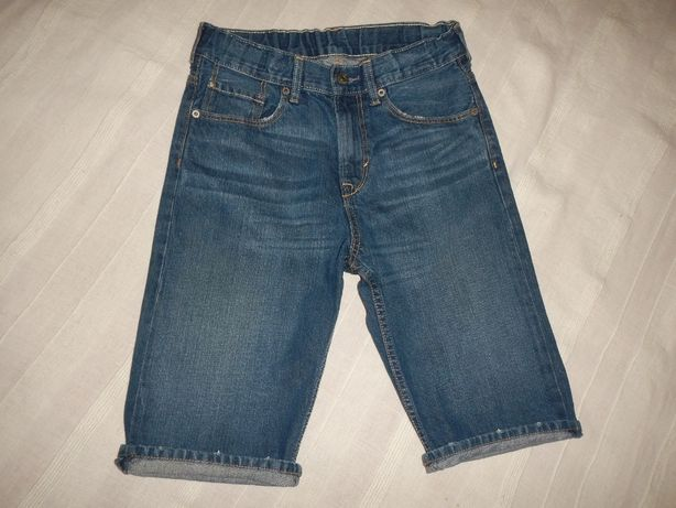 Джинсовые шорты h&m р.146см(10-11лет)