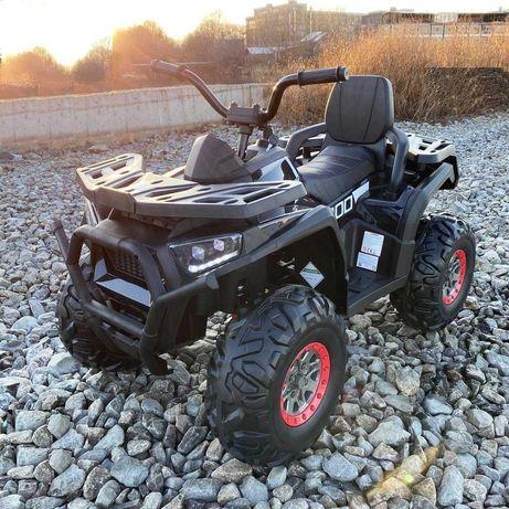 Quad 4x4 ATV ELEKTRYCZNY Auto AKUMULATOR Samochod Motor Grizzly DZIECI