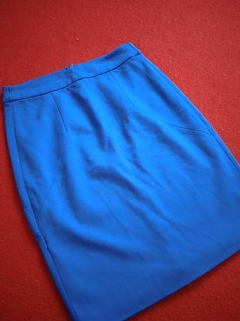 Niebieska spódniczka damska