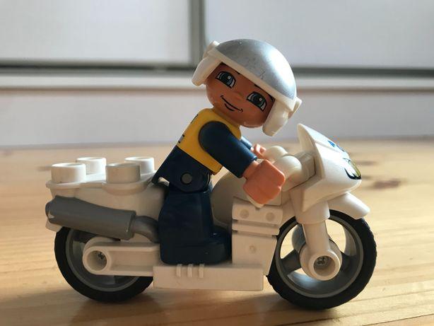 Lego Duplo motor policyjny z figurką
