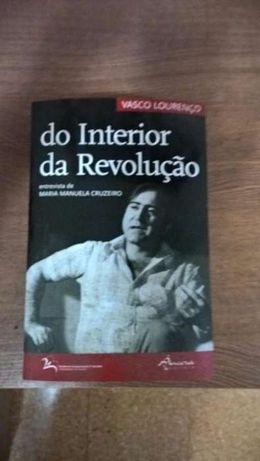 Do Interior da Revolução - Vasco Lourenço 1º edição