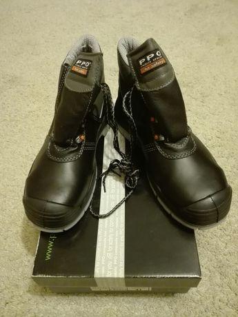 Buty ochronne trzewiki bezpieczne 41