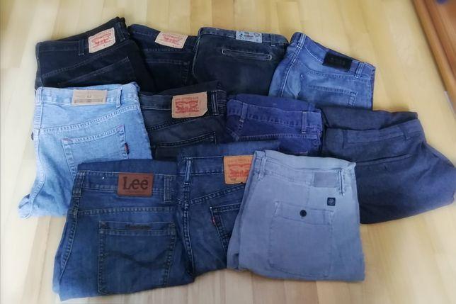 11 par spodni, levis, hugo boss, diesel, Tommy hilfiger, Marco polo