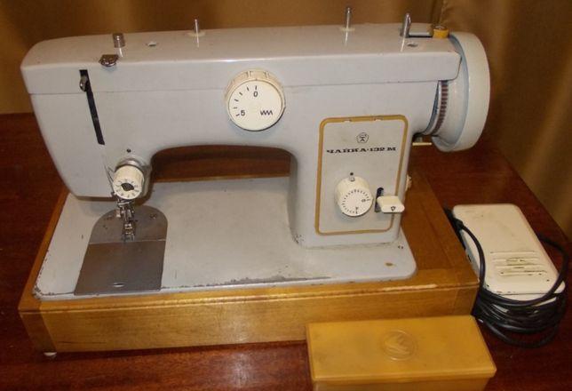 Продам швейную машину Чайка-132м