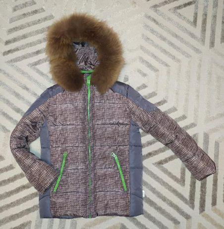 Куртка зимняя для мальчика Kiko, рост 134 см.