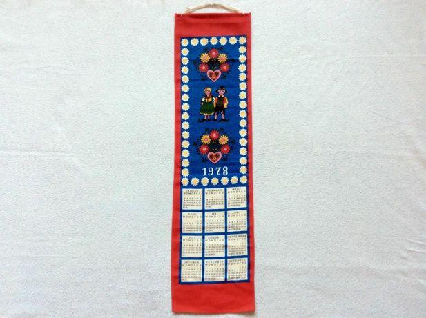 Календарь настенный 1978 г для декора
