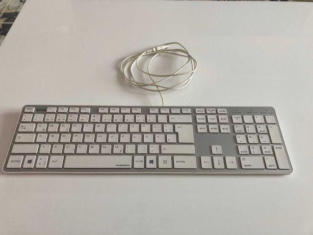 Klawiatura komputerowa HAMA Rossano 50453 biała