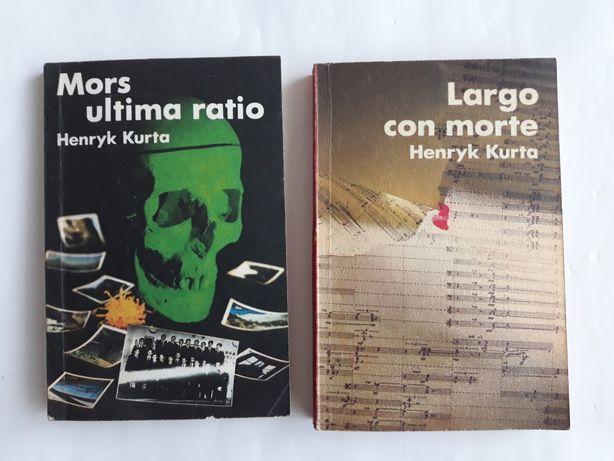Henryk Kurta ; dwa kryminały