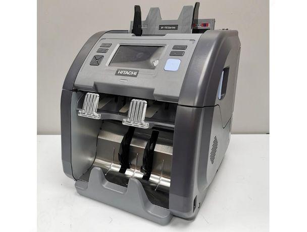 Автовалюта 2 сканера, гарантия Hitachi ih-110 сортировщик банкнот