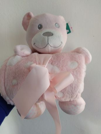 Іграшка ведмедик +  плед