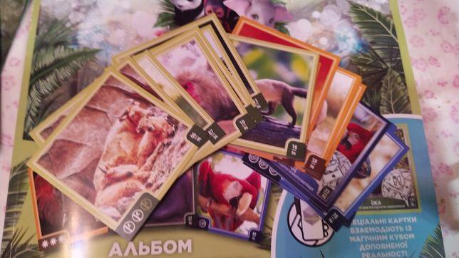 Карточки Варус обмен Тополь-2