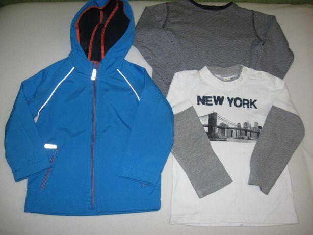 Куртка демисезонная Baker softshell 2-3 года. Пакет вещей. Цена за все
