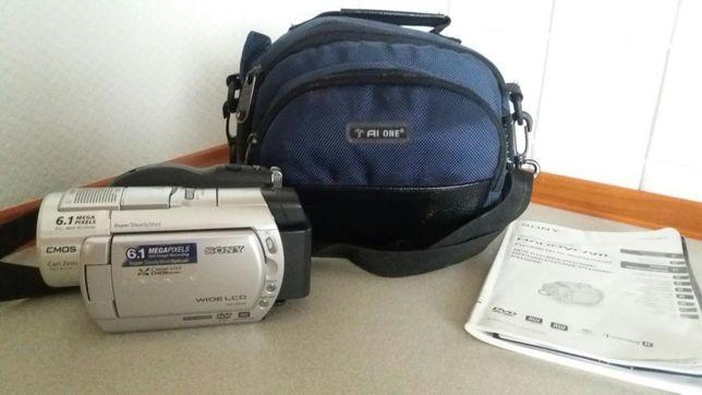 Видеокамера Sony DCR-DVD508BE , футляр , инструкция